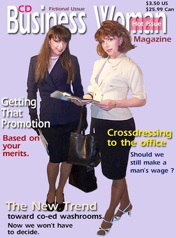 cd business woman magazine  Shame it's fictional  Femininity and