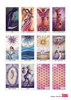 Telecharger Jeu De Tarot Gratuit : telecharger, tarot, gratuit, Gratuit, Tarot, Marseille, Imprimer, Tarot,, Divinatoire