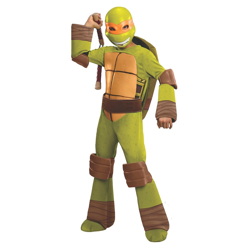 New Teenage Mutant Ninja Turtles Michelangelo Nunchucks Halloween Costume Teenage Mutant Ninja Turtles