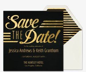 Save the date free online invitations sarah 39 s wedding for Electronic save the date templates