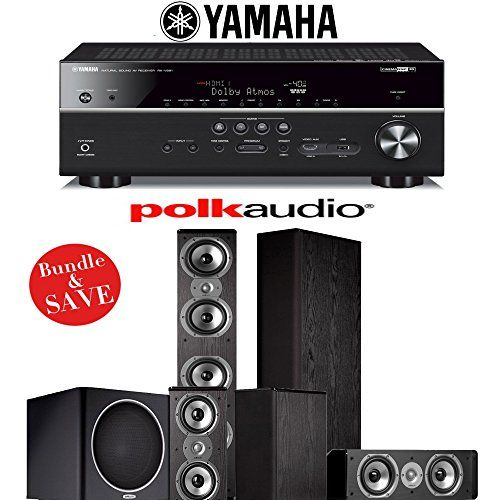 Polk Audio TSi 500 51Ch Home Theater Speaker System with Yamaha ...