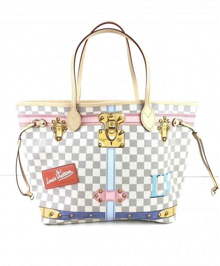 7eefbfbc366e Louis Vuitton Neverfull cloth handbag