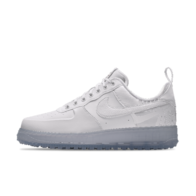 big sale 8aeb3 e0d77 Nike Air Force 1 Low iD Winter White Mens Shoe