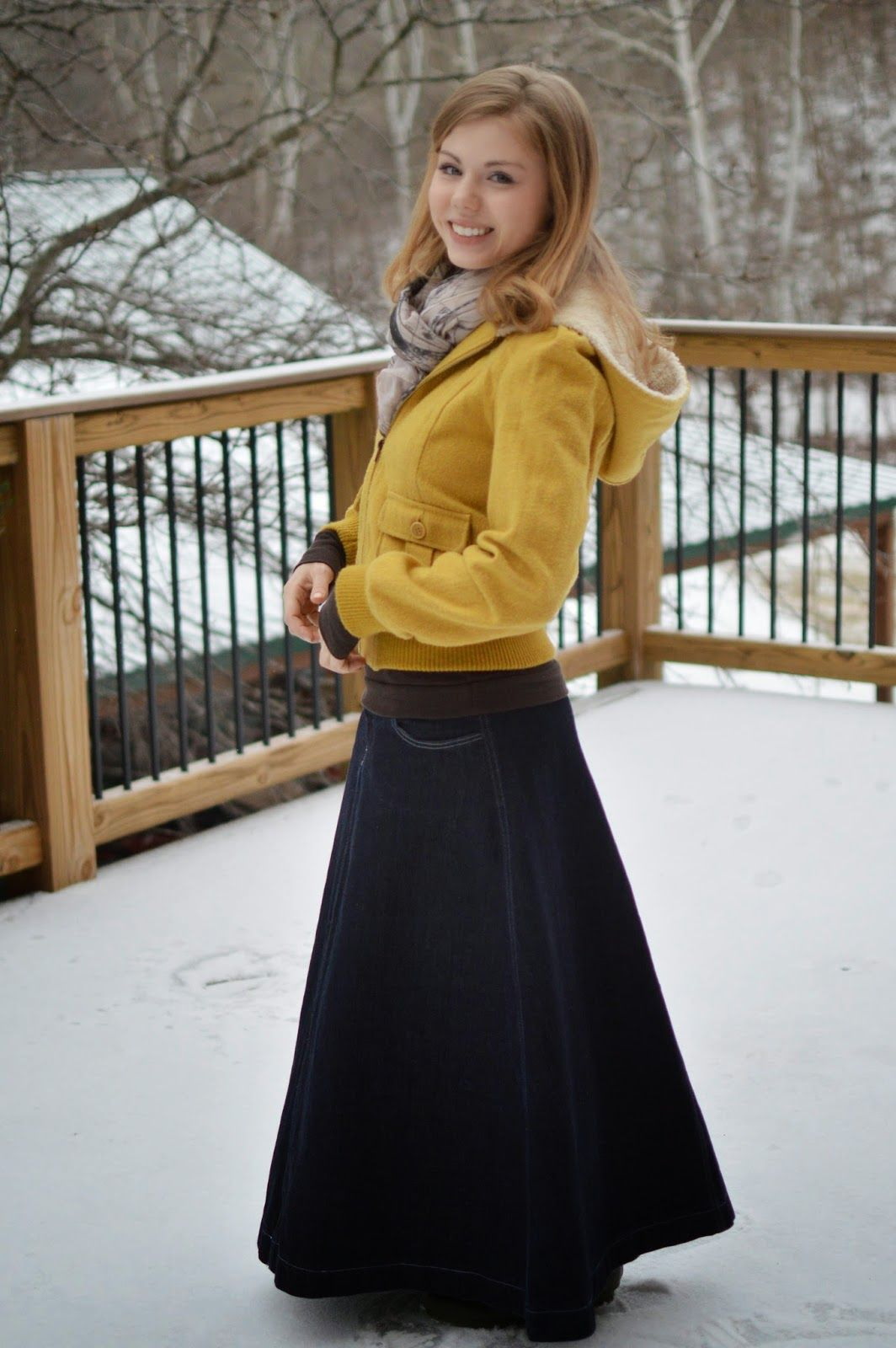 Long skirt: what to wear in winter and how to choose a model