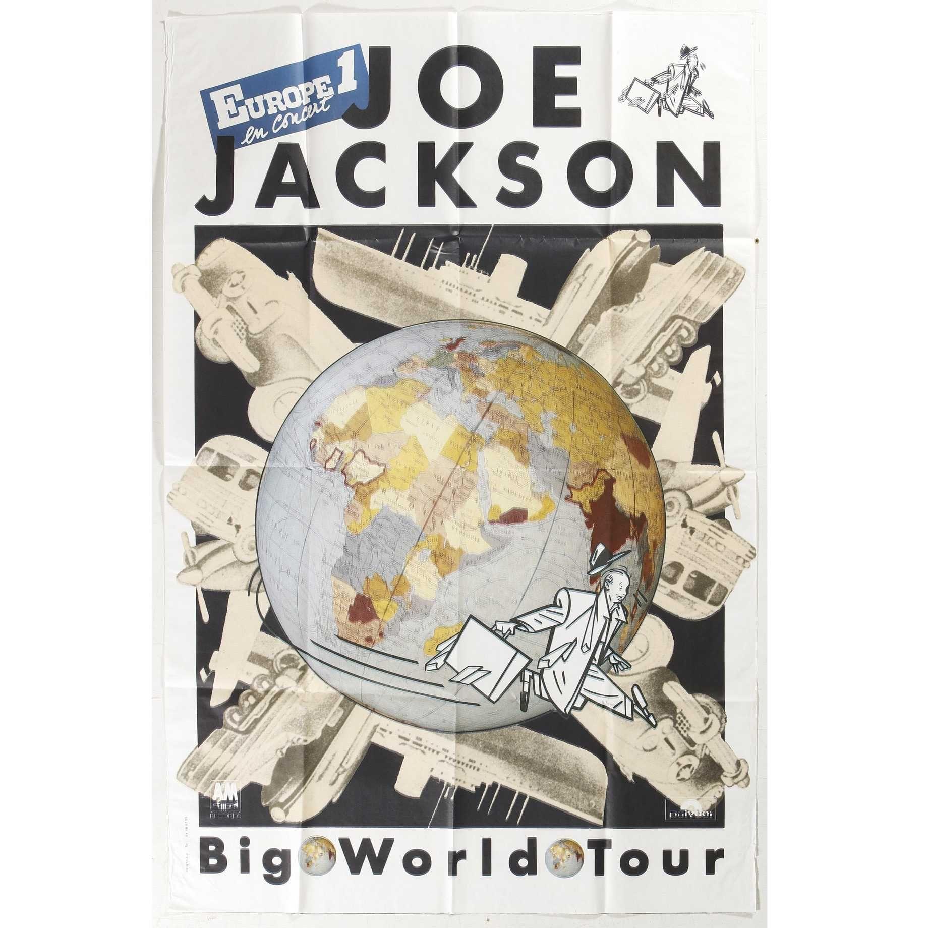 ANONYME. Joe Jackson en concert. Offset Jackson, Concert