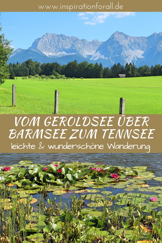Geroldsee Barmsee Tennsee Wandern In Wunderschoner Landschaft In Bayern Tipps Fur Die Wanderung Mit Natur Bildern Gerolds Ausflug Urlaub Bayern Reisen