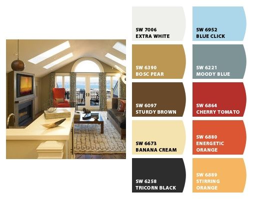 Bonus Room Idea Paint Colors From Chip It By Sherwin Williams