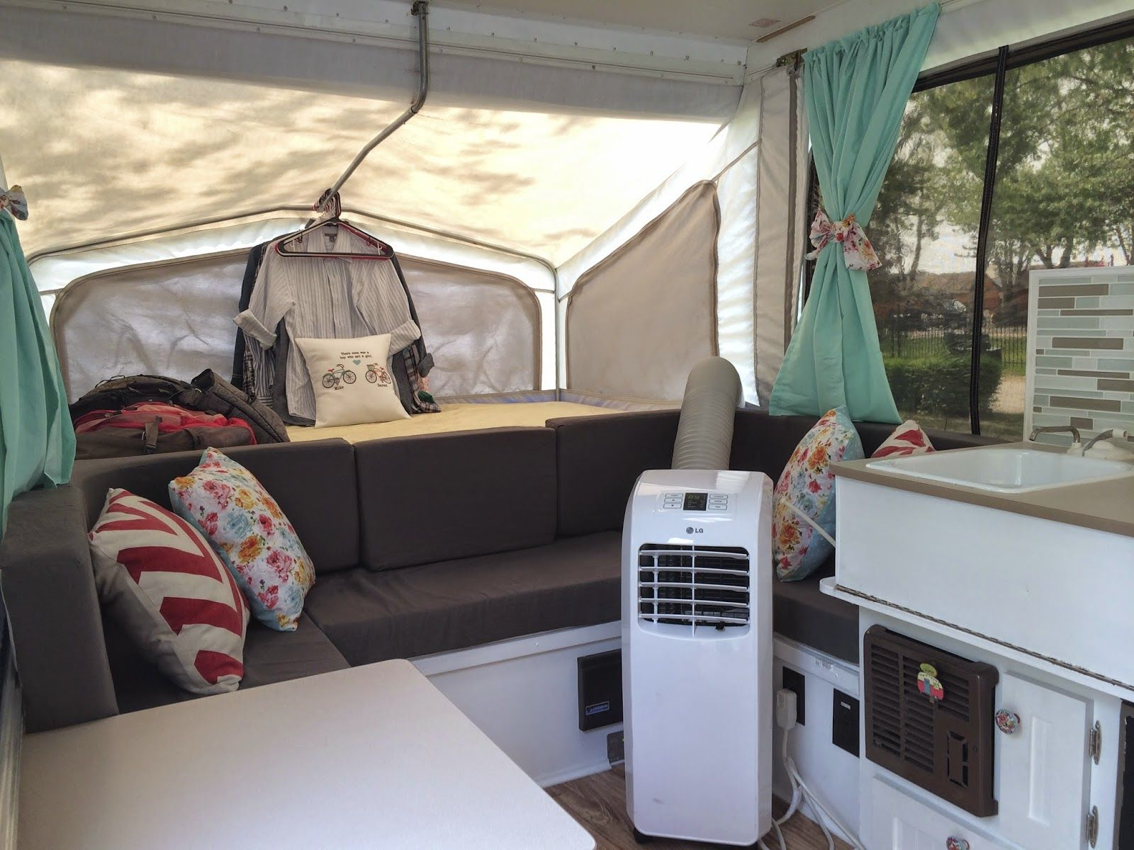 bardieb on Pinterest Pop Up Campers Campers and Decorating A Camper #846F47