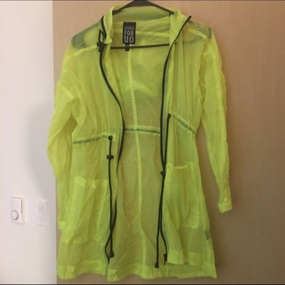 Yellow Jacket From 24 Hrs For Uo Urban Outfitters Jacket