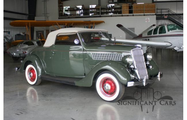 For Sale: 1935 Ford Convertible | HotrodHotline.com