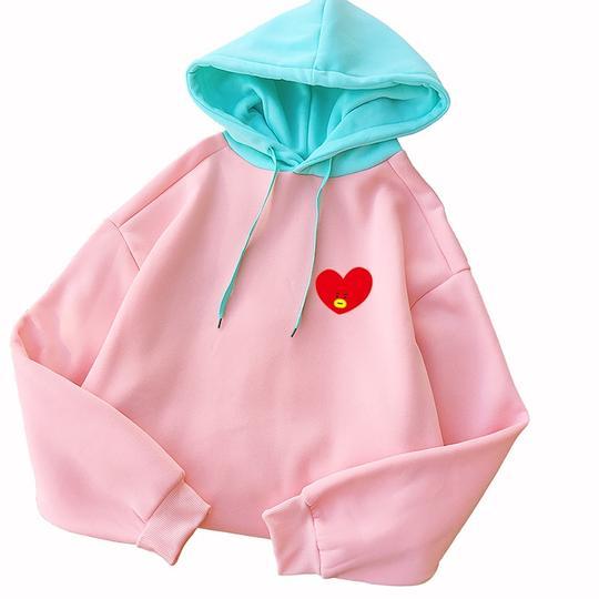 Kids Boys Fleece Turtleneck Hooded Hoodie Pullover Sweatshirt Jumper Hoody Tops