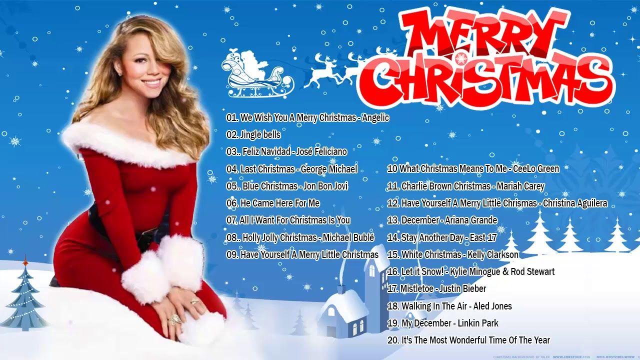 Canciones Navidenas En Ingles Musica De Navidad En Ingles 2019 Canci Cancion De Navidad Navidad Musica Cantando