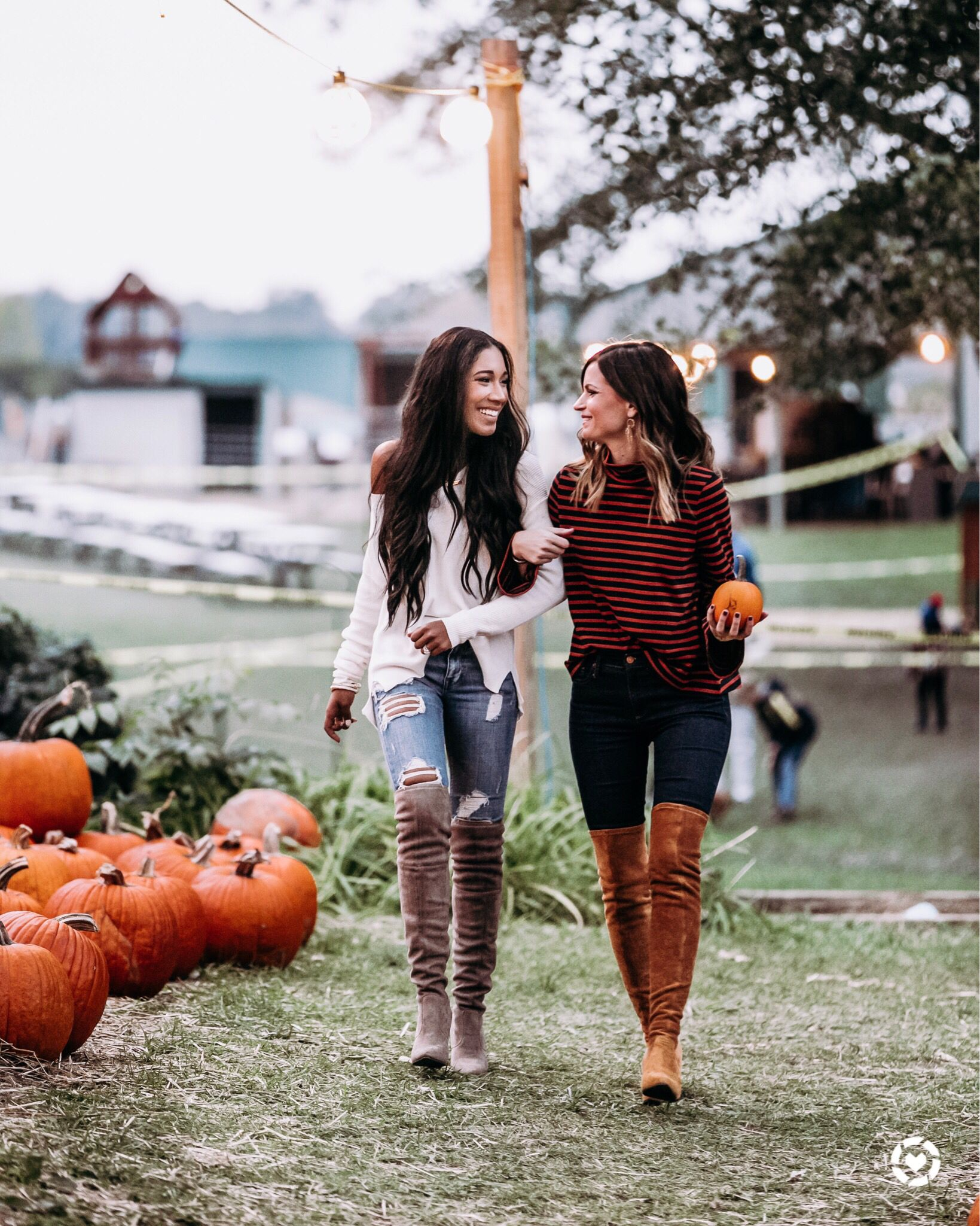 Fall Fashion #pumpkinpatchoutfitwomen