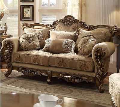 Formal Classic European Style Luxury 5 Piece Living Room Set HD506