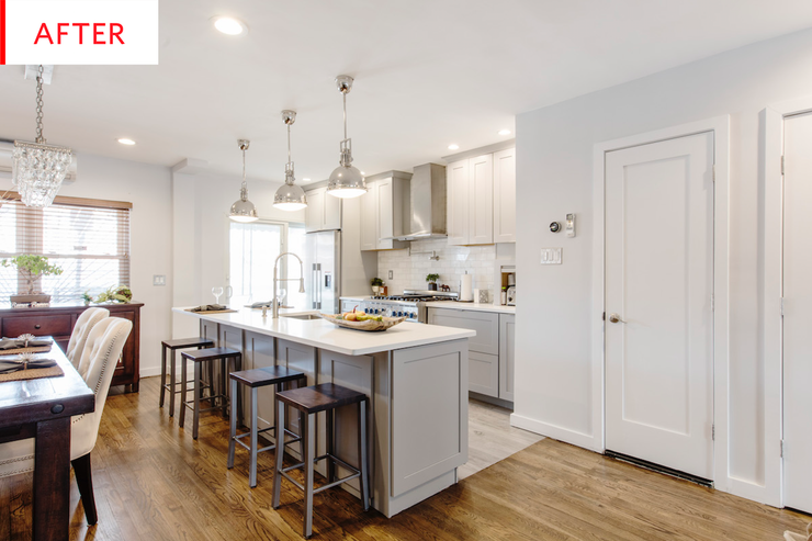 Before After A Kitchen Renovation Fit For Two Avid Chefs