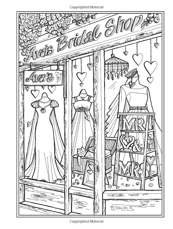 Amazon Com Creative Haven Main Street Coloring Book Creative Haven Coloring Books 9780 In 2021 Detailed Coloring Pages Creative Haven Coloring Books Coloring Books