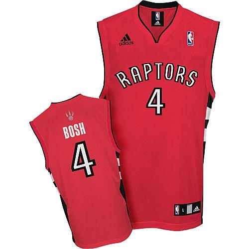 Chris Bosh Road Jersey, Toronto Raptors #4 Red Jersey Price:$20ID ...