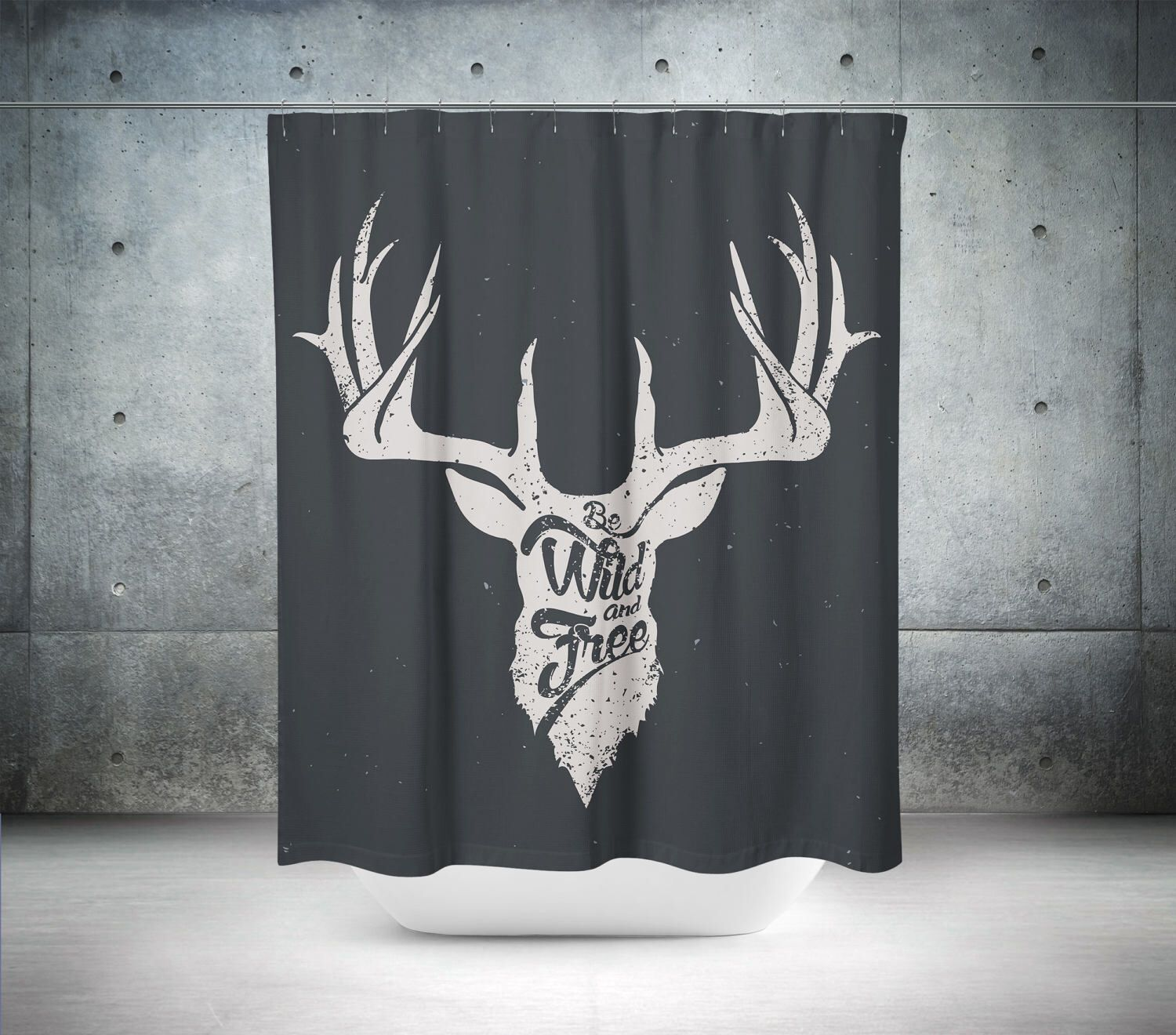 . Pin by Holly Anderson on upstairs   Modern bathroom decor  Deer