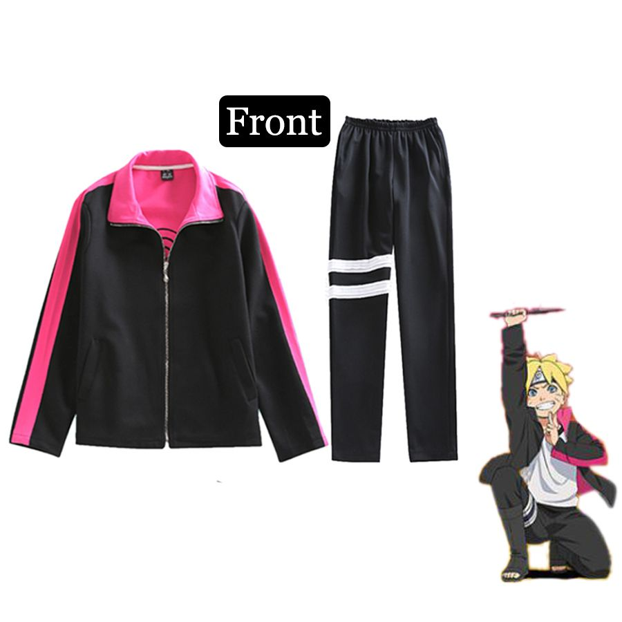 Click to Buy ucuc New BORUTO NARUTO Cosplay Costumes Suit For