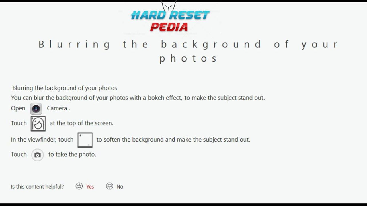 Pin by Smart Webpk on How To Hard Reset | Blur photo, Bokeh