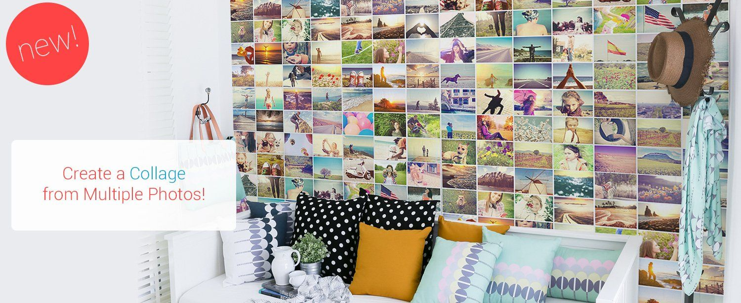 Create Collage Mural Custom Wall Murals Eazywallz Your Own Grasscloth Wallpaper