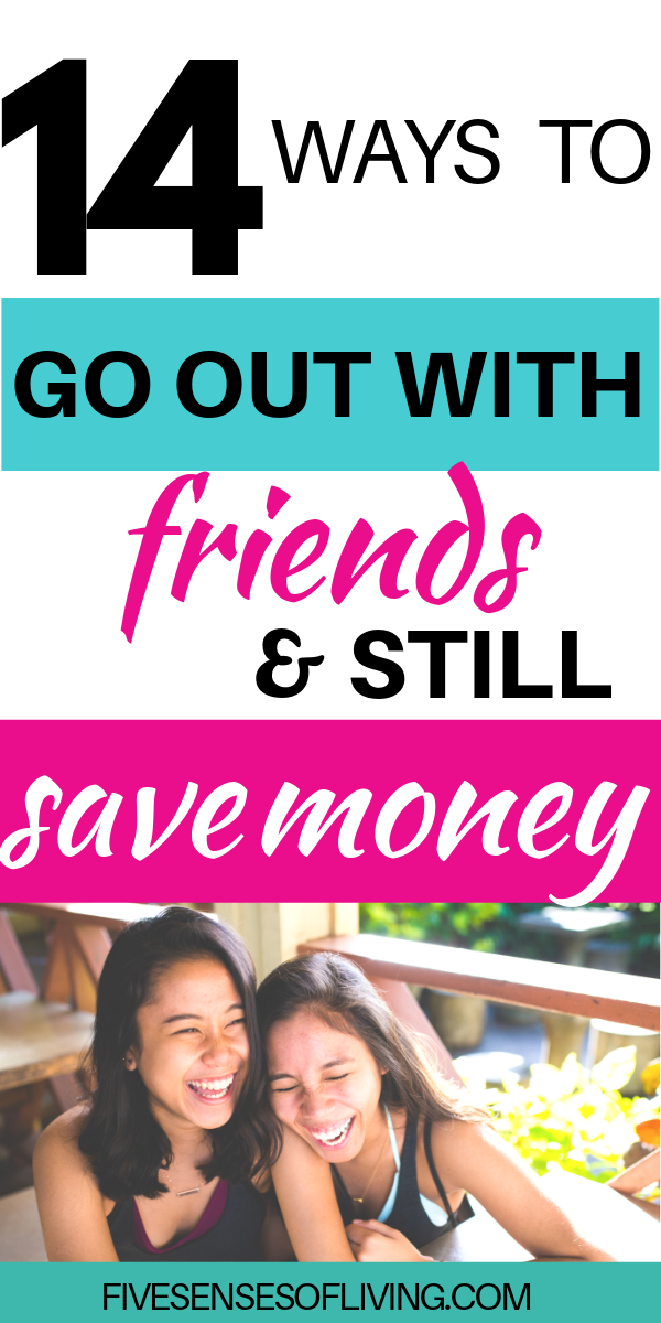 ideas for going out with friends