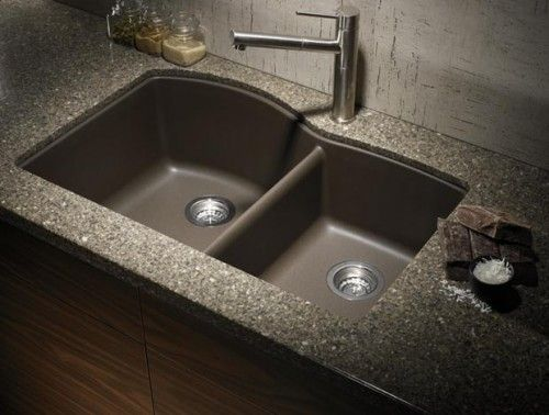 How To Clean A Blanco Composite Granite Sink.From Blanco One Of Their Silgranit Sinks In Cafe Brown A