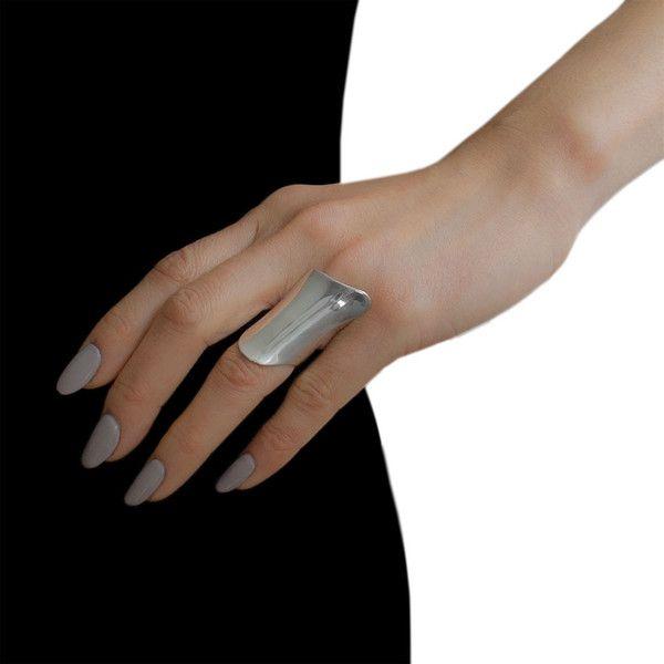 Lynn Ban Armor Ring In Sterling Silver KDqR9fJMUP