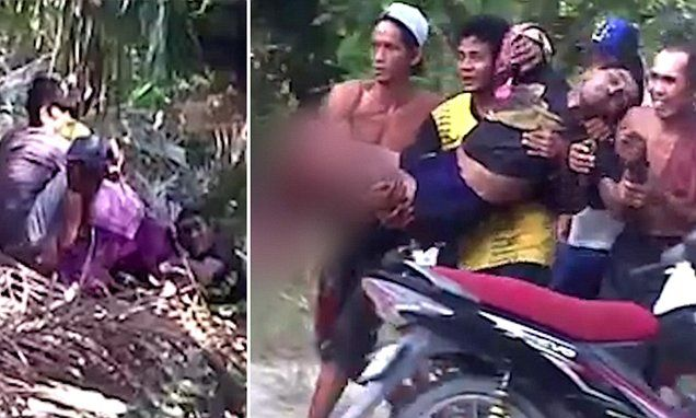AMAZING STORIES AROUND THE WORLD: WARNING: GRAPHIC CONTENT: Onlookers Scream In Horr...