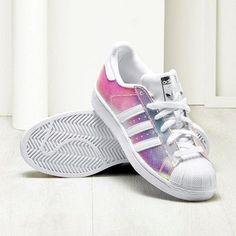 basket superstar adidas femme blanche et grise