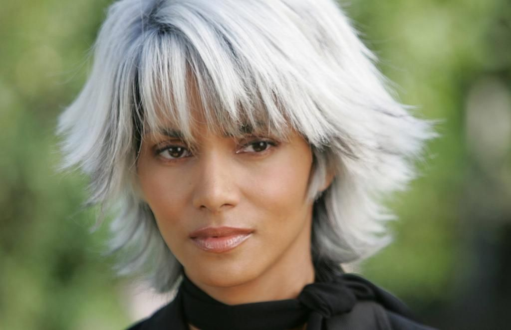 halle berry as storm hair styles