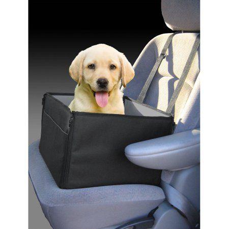 Unique Petz Pet Booster Seat Black