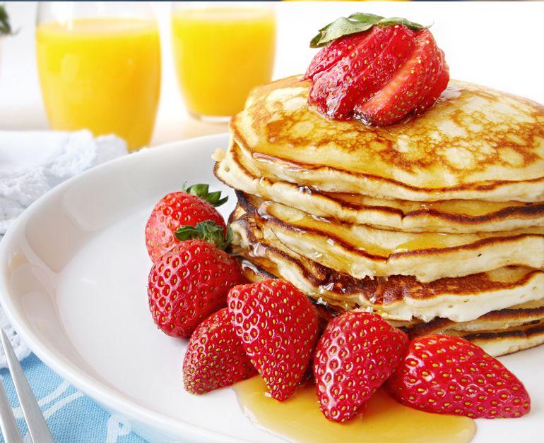 Daisy Sour Cream Pancakes Daisy Brand Sour Cream Cottage Cheese Recipe Recipes Food Breakfast Recipes