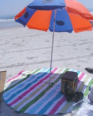 Round Beach Blanket  912400d89