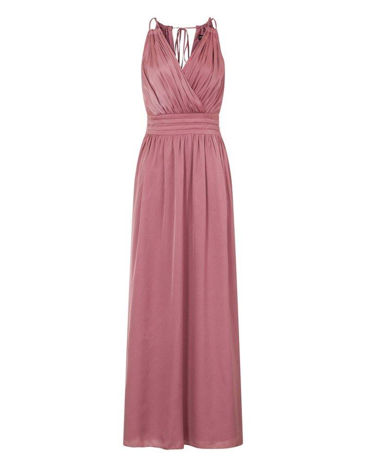 Little Mistress Wrap Satin Maxi Dress | I\'m So Fancy | Pinterest ...