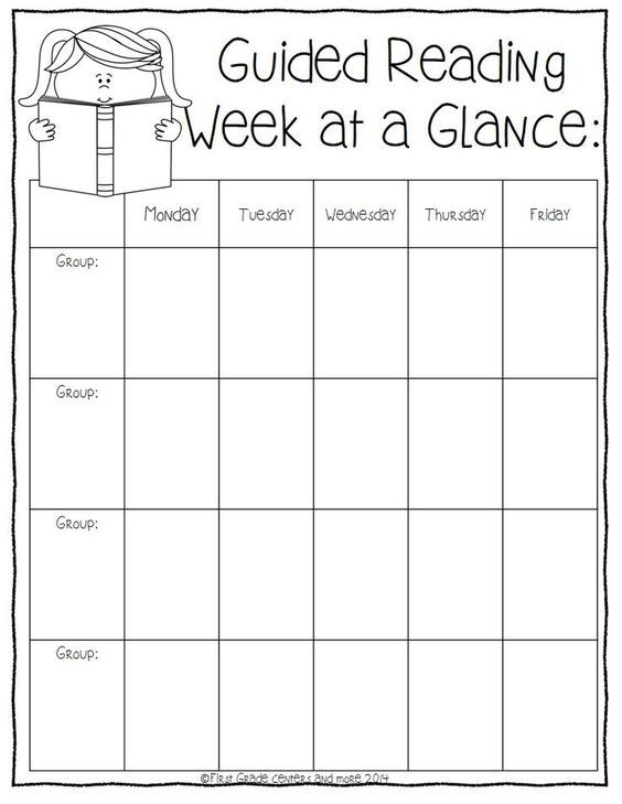 Guided Reading Planning Sheets Freebie Guided Reading Pinterest