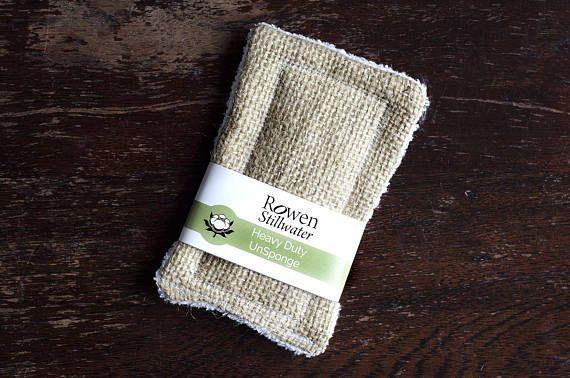cloth dish sponge Eco friendly kitchen scrubbies plastic free cleaning