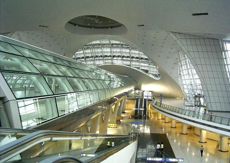 Incheon airport - Seoul   Places   Pinterest   Seoul, Incheon and ...
