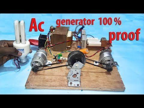 how to build 220v free energy generator