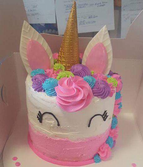 Peachy Unicorn Cakes Unicorn Ice Cream Cake Baskin Robbins Funny Birthday Cards Online Inifodamsfinfo