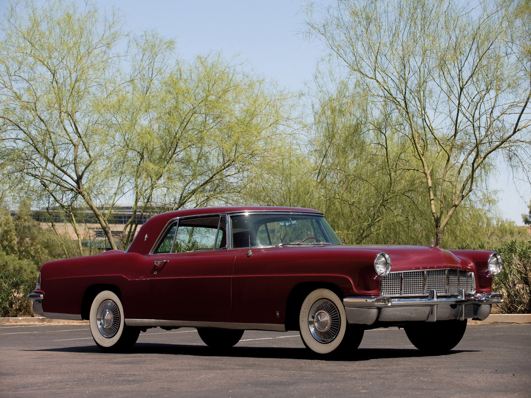 1956 Lincoln Continental Mark-II | Lincoln, What a Luxury Car should ...