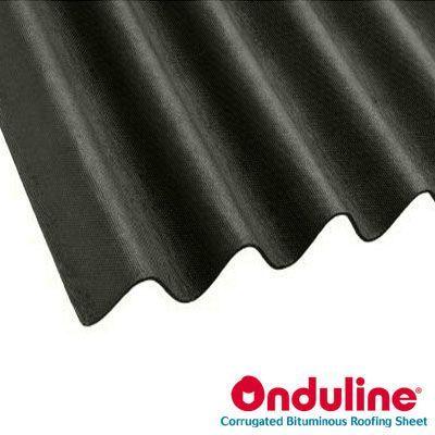 Onduline Corrugated Black Bitumen Roof Sheet 2m X 950mm Roofing Superstore Roofing Superstore Roofing Sheets Corrugated Roofing Roofing