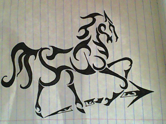 Tribal Sagittarius Tattoo Designs For Men Valoblogi Com