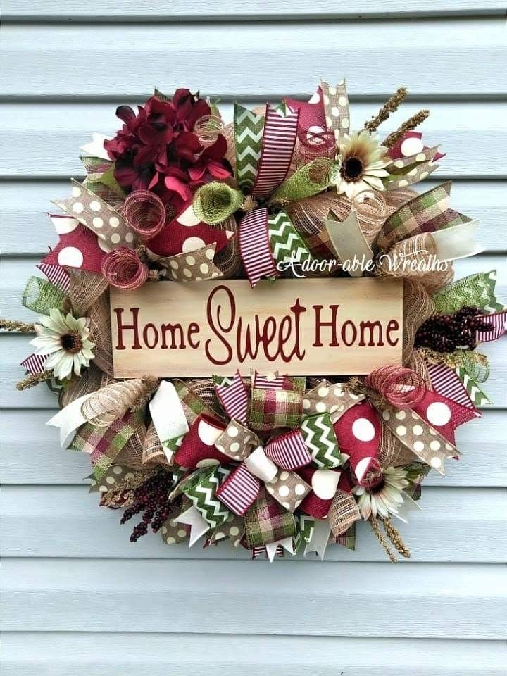 Pin by Santas Workshop on Christmas wreaths Pinterest Wreaths