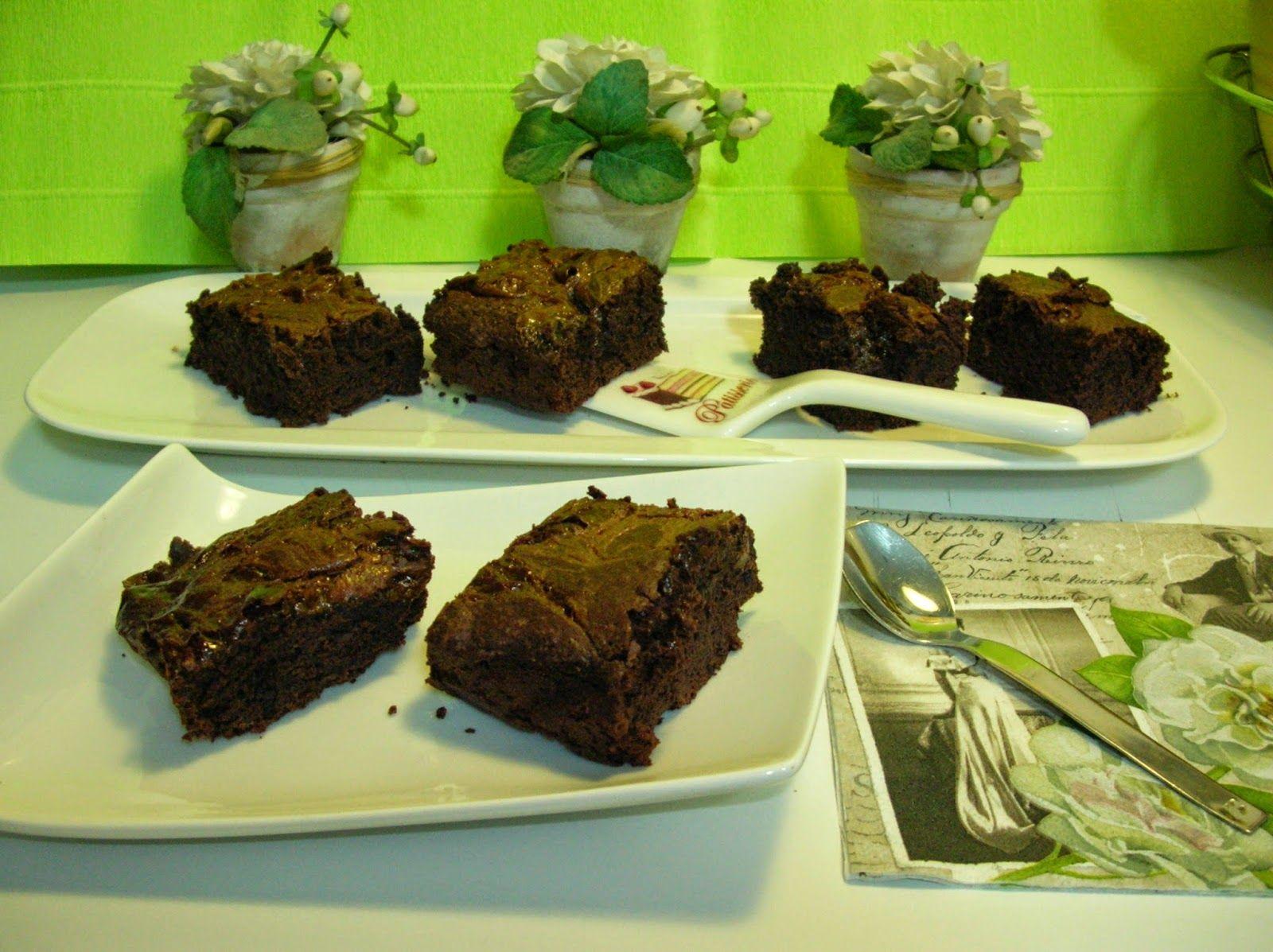 Nuvola Glacé: brownie de chocolate con dulce de leche