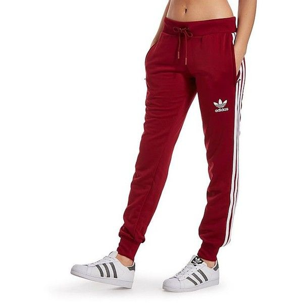 adidas Originals Poly 3 Stripes Pants ($67) ❤ liked on