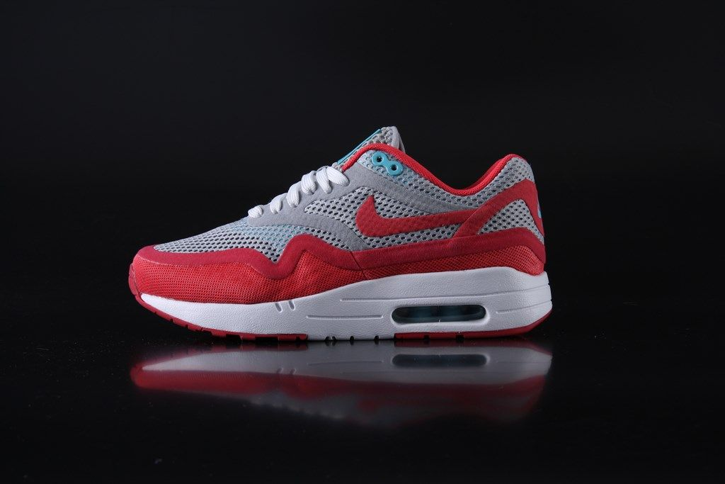 Nike WMNS Air Max 1 Breeze Wolfgrey Green Purple Blue Lgn Red 644443