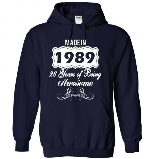 (NewAge001) Made in 1989 Years of Being Awesome - #long tee #tee time. THE BEST => https://www.sunfrog.com/Names/NewAge001-Made-in-1989-Years-of-Being-Awesome-puihjkaohj-NavyBlue-37749289-Hoodie.html?68278