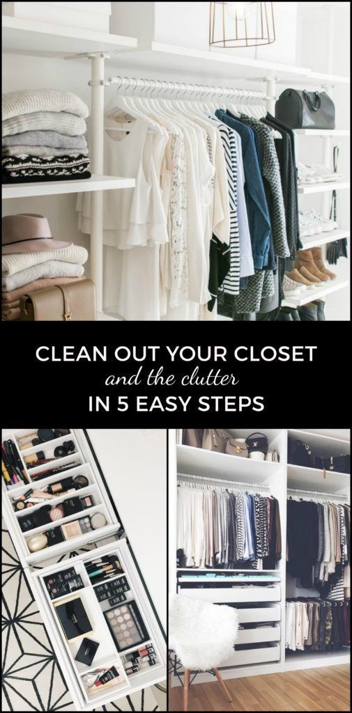 """Cleaning out your closet is two things: exhausting and exhilarating. It's like running {insert the long distance of your choosing – from 500 meters to 15 miles}, you have to get through that first """"I want to quit"""" panic to get to all the good feelings. When my closet is clean and paired down, I ... #closetinserts"""