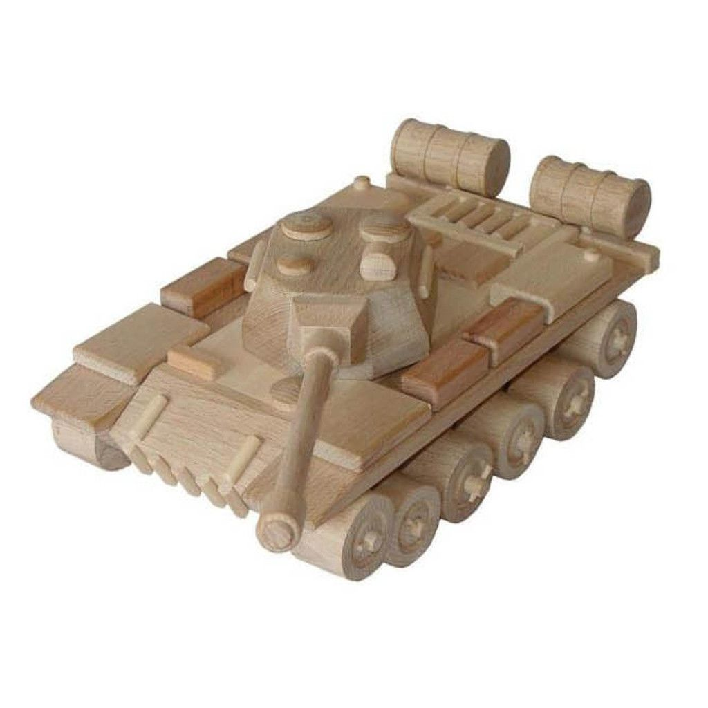 large wooden army tank – foster | kids and fun | wood toys